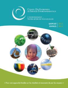 Rapport annuel 2012 du CETEQ