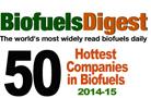 50 entreprises en bioénergie les plus appréciées en 2014-2015 selon Biofuels Digest : votez pour Enerkem