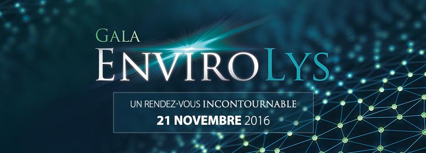 Le Gala EnviroLys: un rendez-vous incontournable pour reconnaitre l'expertise privée en environnement
