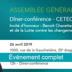 Dîner-conférence AGA 2019