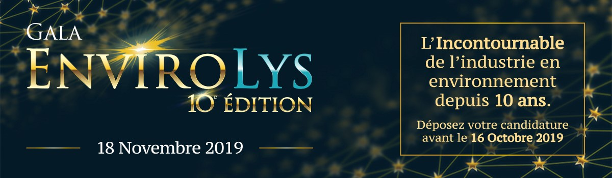 Gala EnviroLys | 10e édition